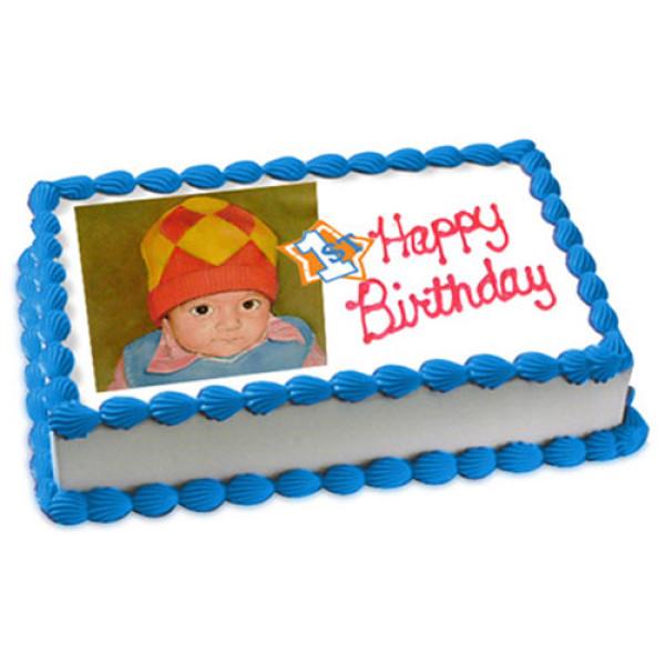 1st Birthday Cake 1kg - Birthday Cake Online Delivery
