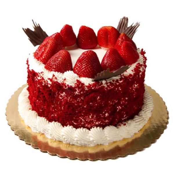 Red Velvet Cherry Cake