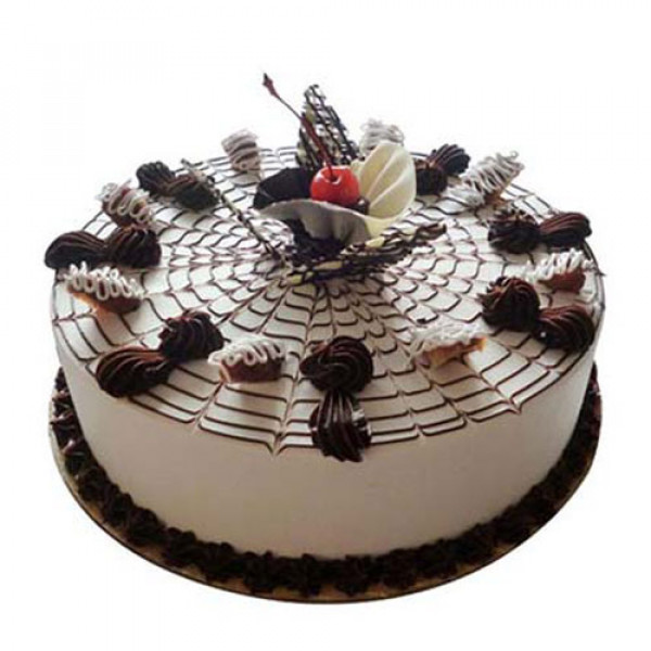 Web Of Happiness Cake 1kg - Birthday Cake Online Delivery