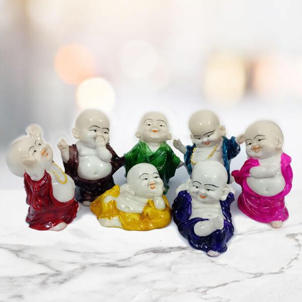 Cute Child Monk Buddha Kids