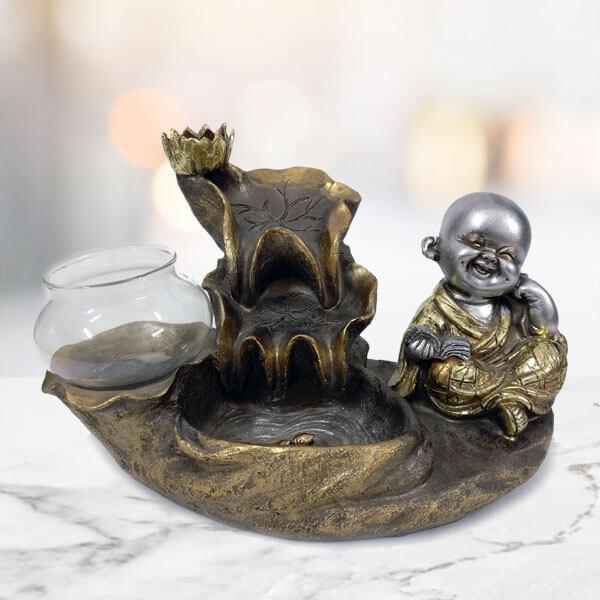 Laughing Buddha Fog Fountain