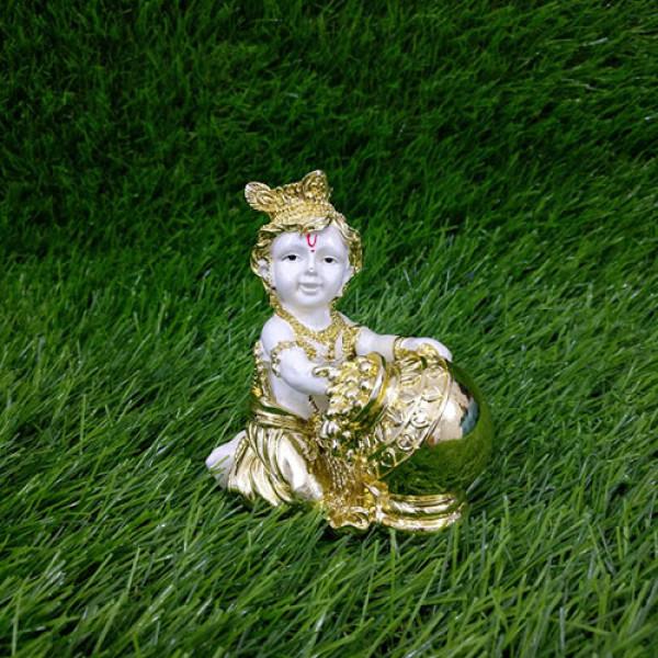 Matki Krishna Car Dashboard Idol