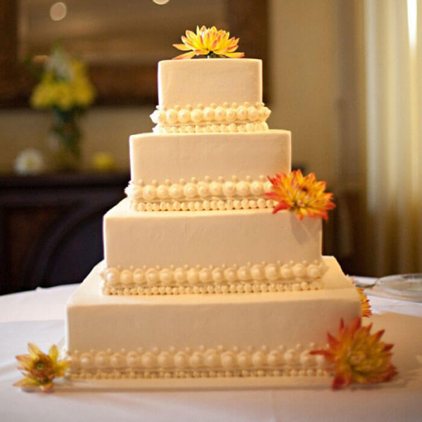 Multi Tier Wedding Cake