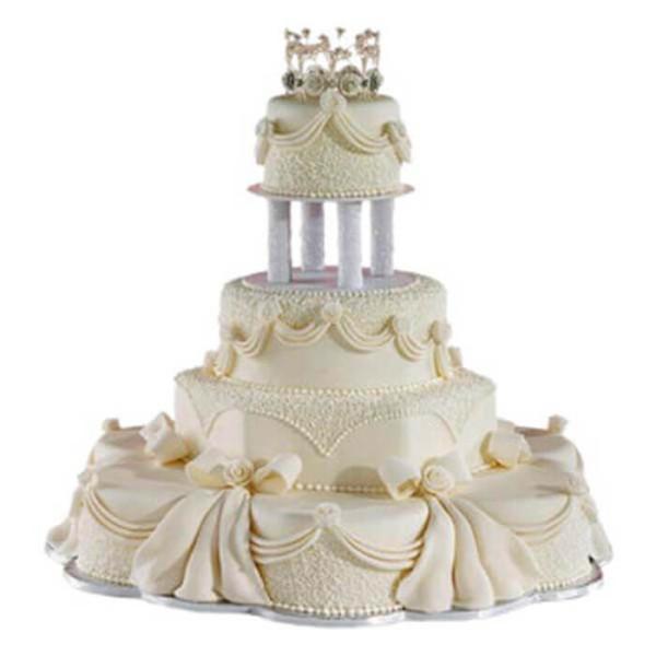 Multi Tier Wedding Loved Cake