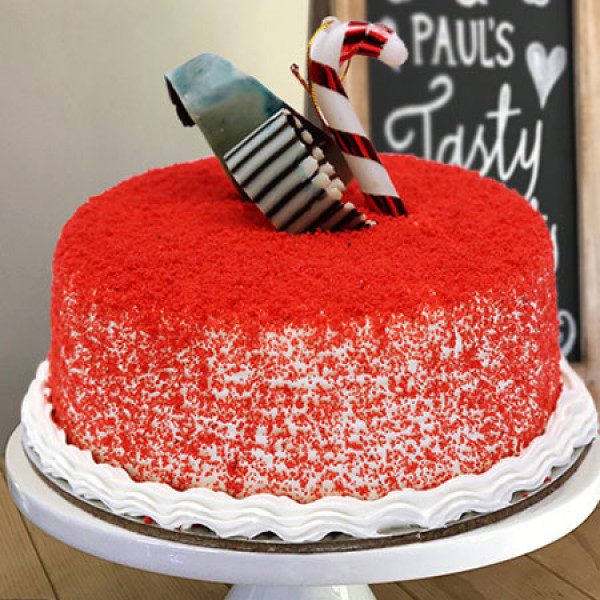 Red Velvet Round Cake
