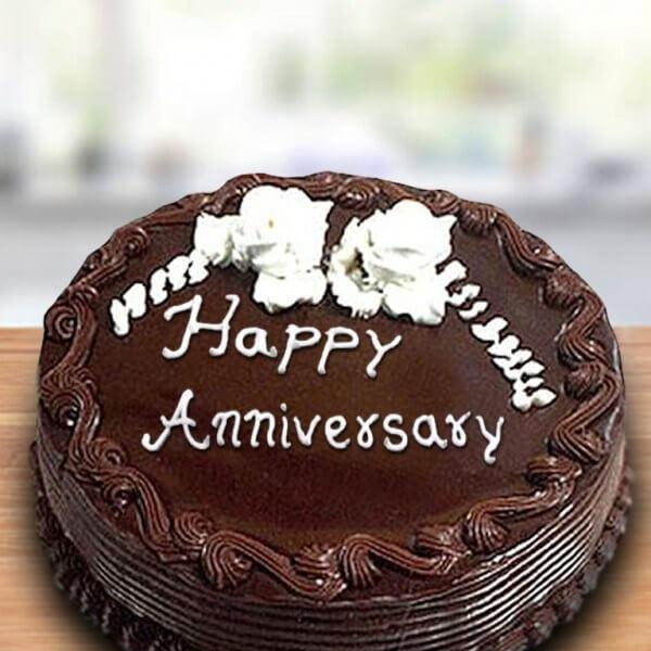 Chocolate Anniversary Cake Online