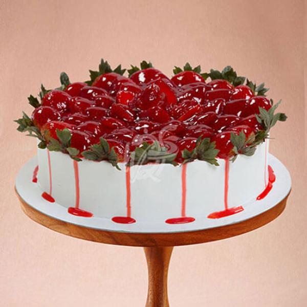 Loved Strawberry Cake Online