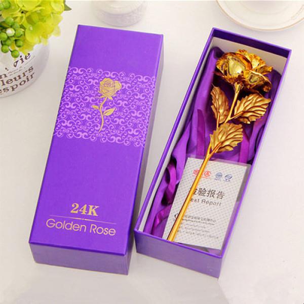 24K Golden Rose