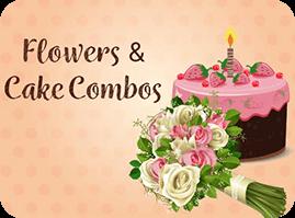 Birthday Flowers and Cake
